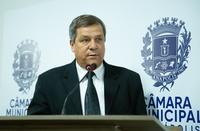 """""""Que atuemos a favor da nossa cidade"""", diz Paulo de Lima no seu retorno à Câmara"""