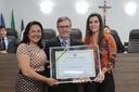 Câmara Municipal de Anápolis conferiu o Título de cidadania ao Dr. Sérgio Godoy por iniciativa da vereadora Thaís Souza
