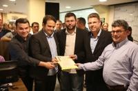 Câmara prestigia inauguração do guichê de atendimento da CMTT no Brasil Park Shopping