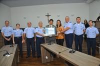 ALA 2 é homenageada em Sessão Solene por realização do evento Portões Abertos