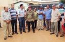 Alfredo Landim apoia moradores do Laranjeiras em protesto contra Saneago