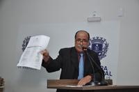 Vereador Alfredo Landim defende pavimentação de todas as ruas na cidade