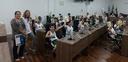 Alunos da Escola Atrium participam do projeto Escola do Legislativo