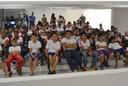 Alunos da Escola Municipal Raymundo Paulo Hargreaves visitam a Câmara