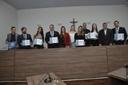 Alunos do curso de Direito da Faculdade Raízes são homenageados em sessão solene