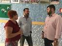Amilton Filho é recebido pelos diretores do Instituto Cristão Evangélico de Goiás
