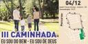 """Amilton Filho garante apoio da Câmara Municipal para a III Caminhada """"Eu sou do bem - Eu sou de Deus"""", promovida pela Cruzada pela Dignidade"""