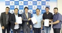 Amilton Filho participa de assinatura de convênio que destina R$ 1 milhão para cursos profissionalizantes