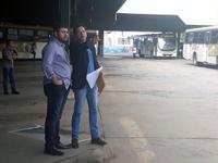Amilton Filho retorna ao Terminal Urbano e pede à CMTT providências para garantir segurança aos usuários