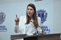 Andreia Rezende registra a passagem do Dia do Parlamento e comemora retorno às sessões presenciais