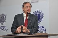 Antônio Gomide pede votação de projeto que cria Diário Oficial da Câmara Municipal