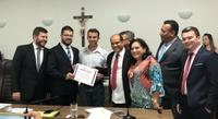 Beijinho Doce completa 40 anos e recebe homenagem do vereador Domingos Paula