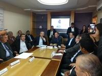 Câmara participa de reunião com governador para tratar do Polo da Base Industrial de Defesa