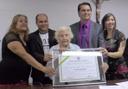 Câmara concede Título de cidadania anapolina a Francisca Guimarães
