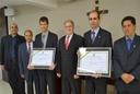 Câmara concede título de cidadania ao reitor e pró-reitor do IFG