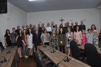 Em sessão solene, Luiz Silva recebe título de cidadão anapolino, por iniciativa do vereador Pedro Mariano