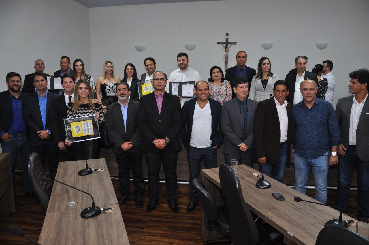 Câmara e Correios realizam Sessão Solene em homenagem à vereadora Vilma Rodrigues