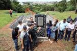 Câmara e Prefeitura entregam obra de contenção a erosão na Vila Formosa