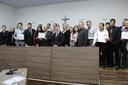 Câmara entrega moções de aplauso em comemoração ao Dia da Bíblia e Dia do Pastor Evangélico