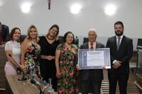 Câmara entrega Título Benemérito ao Pr. Dimas dos Santos Carneiro