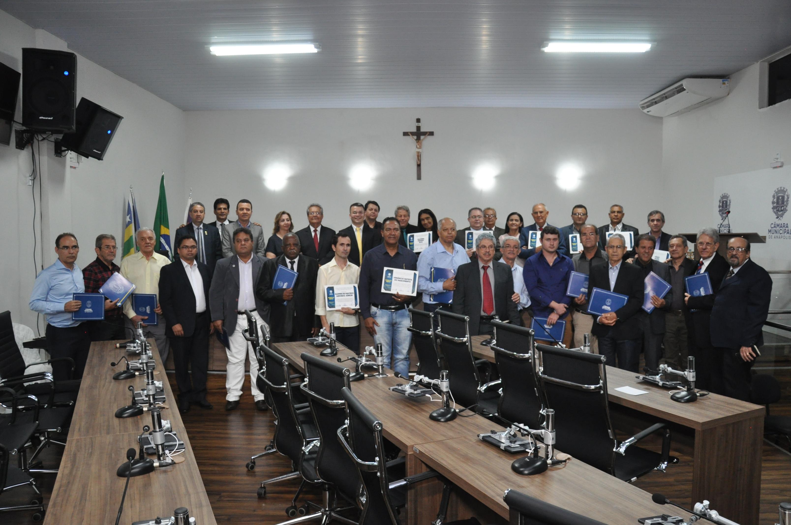 Câmara homenageia 79 anos de fundação da Assembleia de Deus em Anápolis e 70 anos do Pastor José Clarimundo César