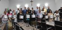 Câmara homenageia evangelizadores que atuam na ressocialização de presos