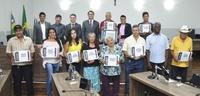 Câmara Municipal celebra Dia do Feirante em sessão solene