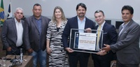 Câmara Municipal concede título de cidadania anapolina a Adriano Baldy