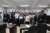 Câmara Municipal entrega Certificado de Honra ao Mérito à diretoria do Sindicato Rural de Anápolis
