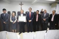 Câmara Municipal entrega título de cidadania a Pedro Bento de Souza