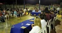 Câmara nos Bairros reúne centenas no Recanto do Sol; moradores aprovam iniciativa do Legislativo