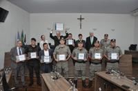 Câmara outorga cidadania a Luiz Medeiros Pinto e homenageia colaboradores da Segurança Pública em Anápolis