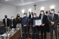 Câmara outorga título de cidadania anapolina ao tenente-coronel Altamiro José Firmino