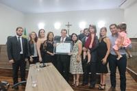 Câmara outorga Título de Cidadania Anapolina por iniciativa da vereadora Professora Geli a Washington João de Sousa Pacheco