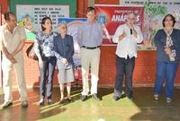 Câmara participa de entrega de obras em escola no Jardim das Américas
