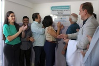 Câmara participa de inauguração de ambulatório neonatal e posto de coleta de leite materno