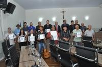 Câmara presta homenagem aos Grupos Regionais de Folia
