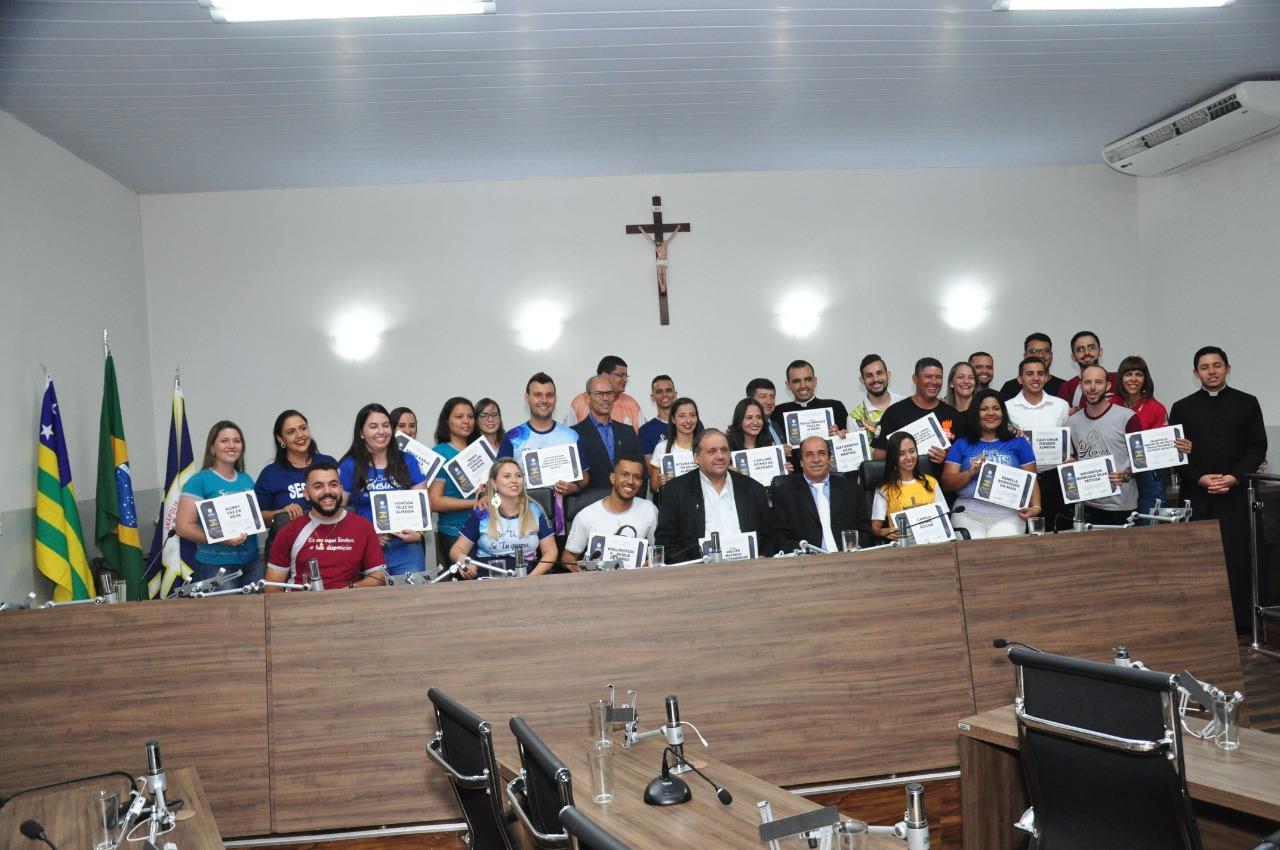 """Câmara realiza Sessão Solene para celebrar 40 anos do Encontro de Jovens com Cristo """"Segue-me"""""""