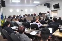 Câmara recebe prefeito e secretários para prestação de contas do 1º quadrimestre de 2018