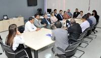 Câmara vai ao secretário estadual de Saúde e cobra agilidade para solução das demandas do setor em Anápolis