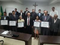 Certificado Dom Manoel Pestana Filho, instituído pela Câmara por iniciativa de Jakson Charles, é conferido a seis pessoas que trabalham pela vida e a família