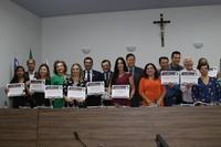 Certificado Professor José Natal é entregue em homenagem ao Dia do Voluntariado