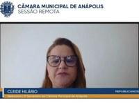 Cleide Hilário alerta para necessidade de se denunciar casos de violência contra idosos