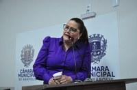 Cleide Hilário destaca campanha do agasalho promovida pela Prefeitura e diz que Câmara é parceira