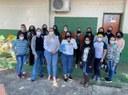Cleide Hilário destina emenda impositiva e visita Escola Municipal Antônio Cosntante