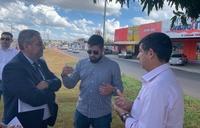 CMTT esclarece dúvidas de vereadores a respeito das obras da Avenida Brasil Norte