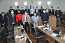 Comandante da Ala 2 apresenta à Câmara projetos e investimentos da unidade