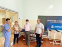 Comissão de Saúde da Câmara visita Centro de Internação para pacientes com Covid-19