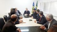 Comitiva de vereadores vai ao Secretário de Segurança Pública de Goiás e cobra retorno dos presos de Anápolis para Aparecida de Goiânia