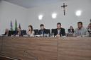 Coronel Adailton, deputado estadual eleito por Anápolis, participa de sessão ordinária